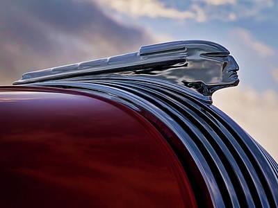 Pontiac Chief Poster by Douglas Pittman