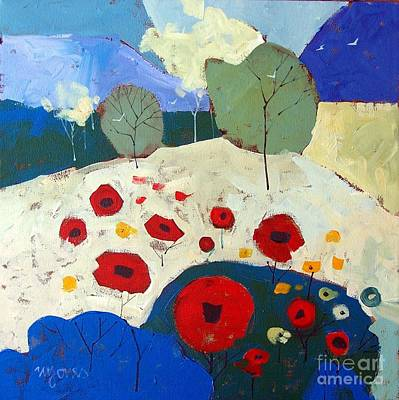 Poppies Poster by Micheal Jones