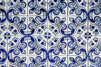 Portuguese Azulejo Poster by Gaspar Avila