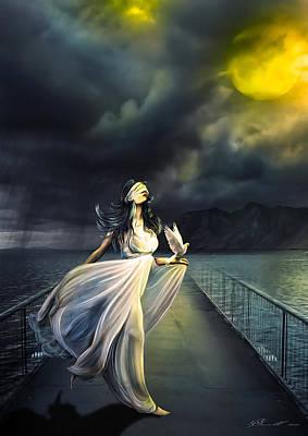 Power Of Faith Poster by Svetlana Sewell