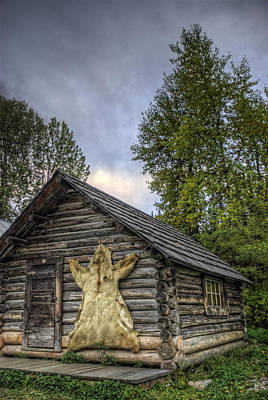 Prospector's Cabin Poster by Wayne Stadler