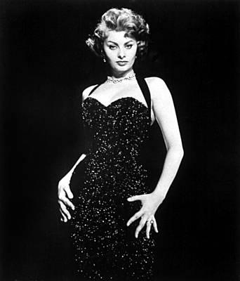 Publicity Shot Of Sophia Loren Used Poster by Everett