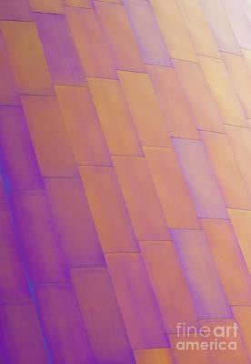 Purple Orange Two Poster by Chris Dutton