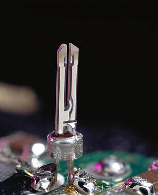 Quartz Crystal Oscillator Poster by Sheila Terry