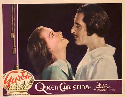 Queen Christina, Greta Garbo, John Poster by Everett