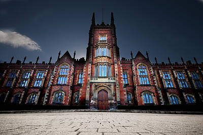Queen's University Belfast Poster by Christopher Kulfan