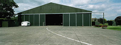 Raf Elvington Hangar Poster by Jan W Faul