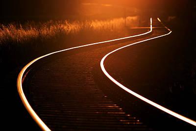 Railroads Poster by Thomas Splietker