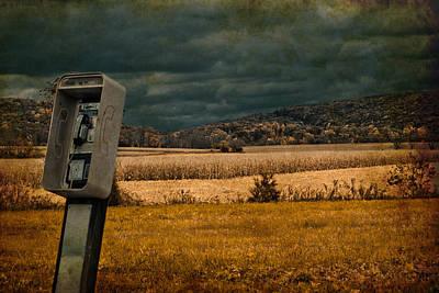 Random Phonebooth Poster by Trish Tritz