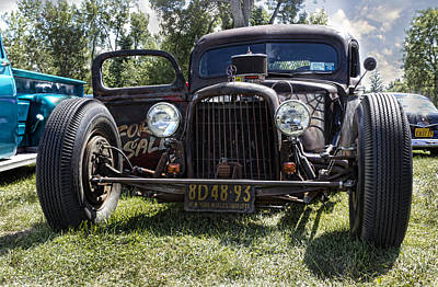 Rat Rod Poster by Peter Chilelli