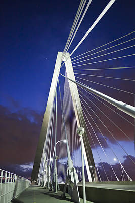 Ravenel Tower Poster by Donni Mac