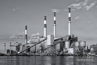Ravenswood Generating Station II Poster by Clarence Holmes