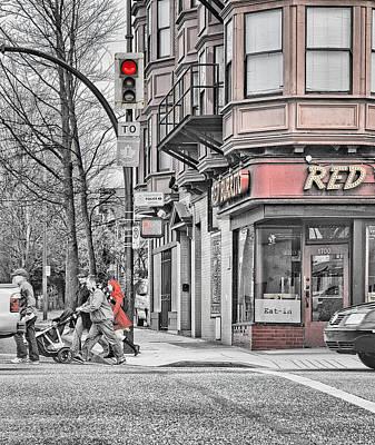 Red Burrito Poster by Paul W Sharpe Aka Wizard of Wonders