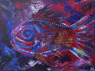 Redribfish Poster by Jeremy Smith