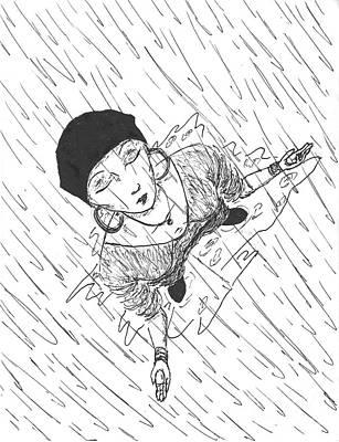 Refreshing Rain Poster by Leigha Sherman