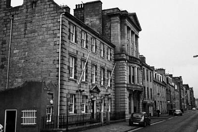 Regent Quay Aberdeen Scotland Uk Poster by Joe Fox
