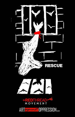 Rescue Project Commemorative Poster by Armando Heredia