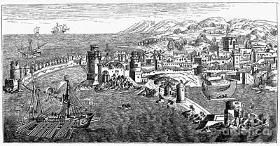 Rhodes, 1488 Poster by Granger