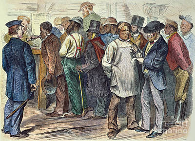 Richmond: Voters, 1870 Poster by Granger
