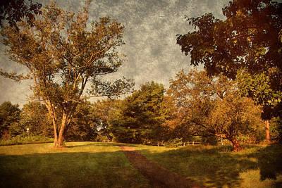 Ridge Walk - Holmdel Park Poster by Angie Tirado