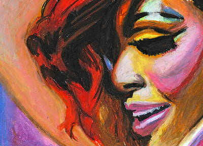 Rihanna Smile Poster by Siobhan Bevans