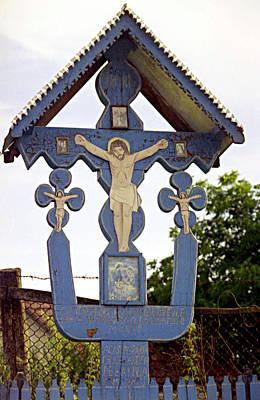 Roadside Crucifix II Poster by Emanuel Tanjala