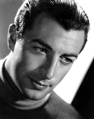 Robert Taylor, Photo Dated 09-18-1936 Poster by Everett