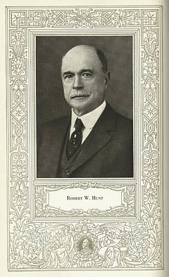 Robert W. Hunt, Us Engineer Poster by Science, Industry & Business Librarynew York Public Library