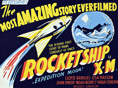 Rocketship X-m, 1950 Poster by Everett