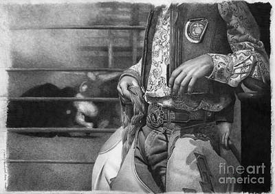 Rodeo Poster by David Vanderpool