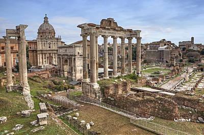 Rome Forum Romanum Poster by Joana Kruse