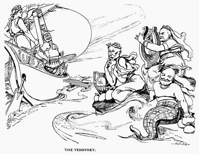 Roosevelt Cartoon, 1907 Poster by Granger