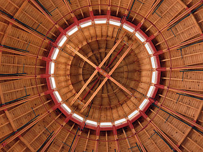 Roundhouse Cupula Poster by Darleen Stry