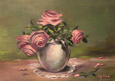 Rouses Still Life Poster by Khatuna Buzzell