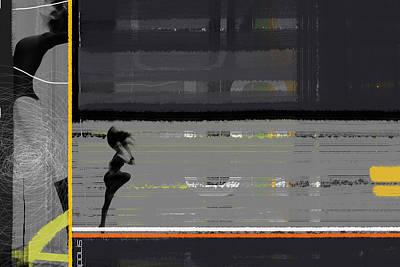 Run Poster by Naxart Studio