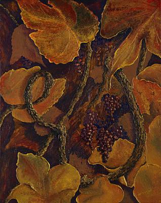 Rustic Harvest Poster by Deborah Ellingwood