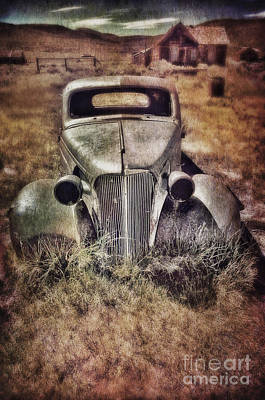 Rusty Car  Poster by Jill Battaglia