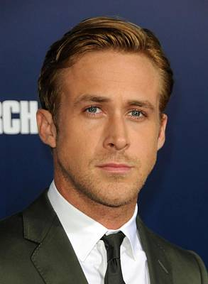 Ryan Gosling At Arrivals For The Ides Poster by Everett