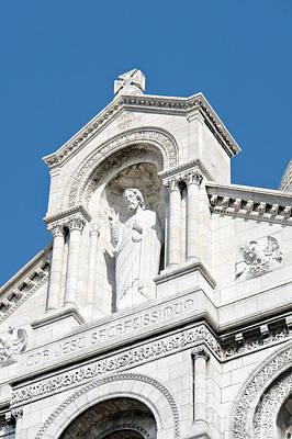 Sacre Coeur Redemeer Poster by Fabrizio Ruggeri