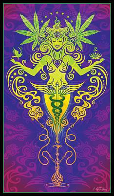 Sacred Smoke Poster by Cristina McAllister
