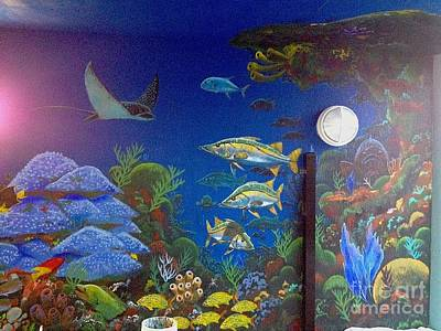 Sailfish Splash Park 9 Poster by Carey Chen