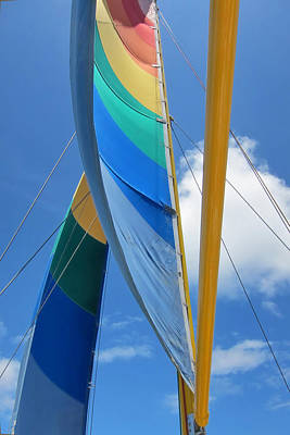 Sails Poster by Jim Nelson