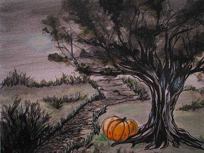 Samhain Poster by Patricia Kanzler