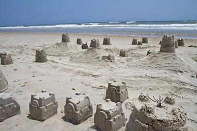 Sandcastle Poster by Betsy C Knapp