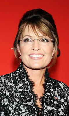 Sarah Palin At Arrivals For Time 100 Poster by Everett