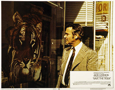 Save The Tiger, Jack Lemmon, 1973 Poster by Everett