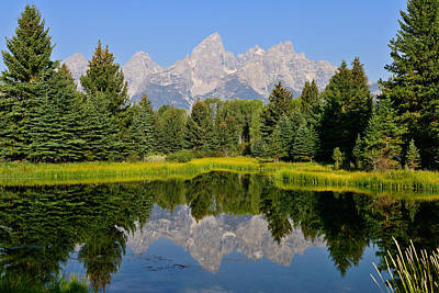 Schwabacher Still Waters Poster by Greg Norrell