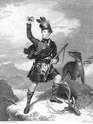 Scotland: Highland Soldier Poster by Granger