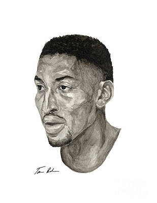 Scottie Pippen Poster by Tamir Barkan