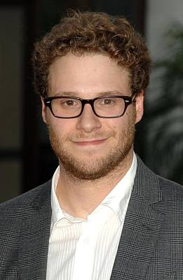 Seth Rogen At Arrivals For Funny People Poster by Everett
